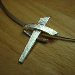 Kreuzanhänger 925/- Silber