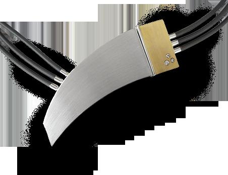 Eine Gold-Silberne Kette